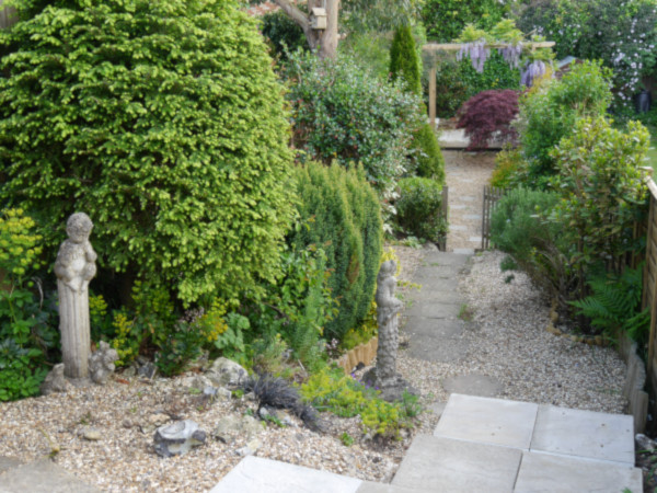 Inglenook Cottage garden