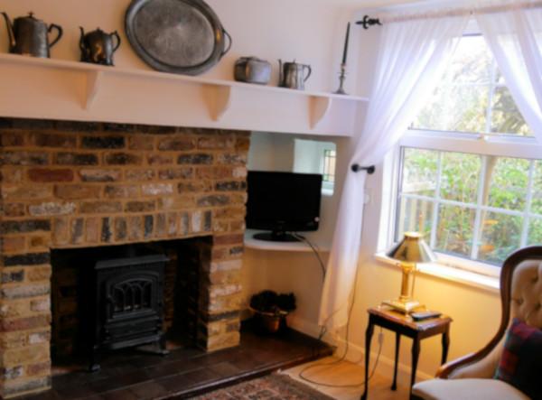 Inglenook Cottage lounge