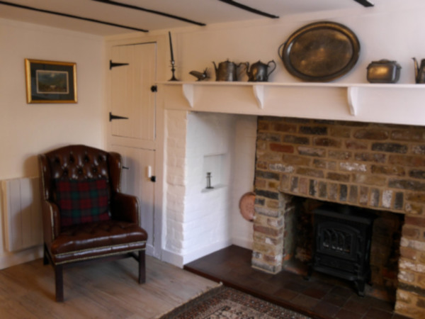 Inglenook Cottage lounge